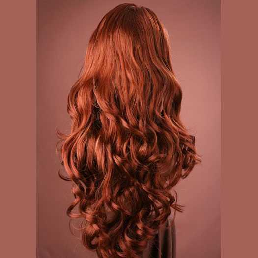 lang haar massage rood haar