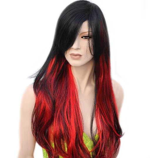 lang haar laid rood haar
