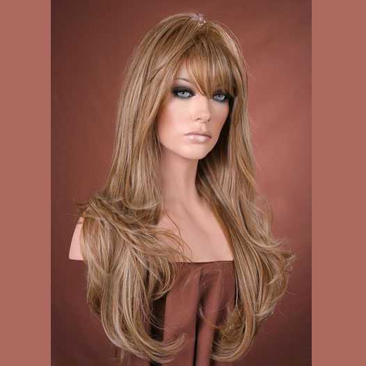 Pruik lang haar goudblond model Kristen F14-22 - Mooie pruiken bij ...