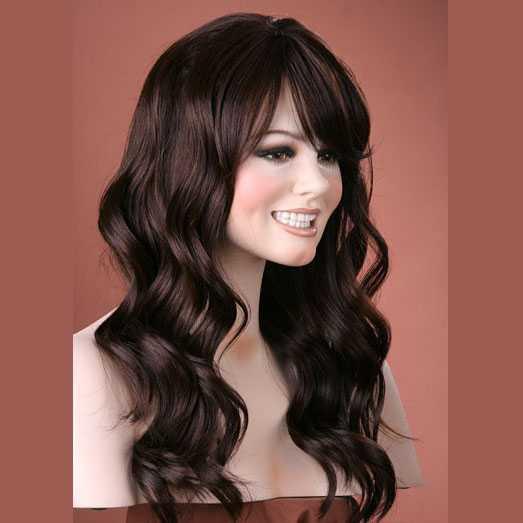 Pruik mix met echt haar model Waverly kleur 4