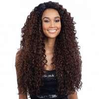 Lace pruik lang haar met volle krullen model Kitron