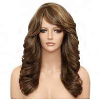 Pruik lang haar met slagen model Phoenix kleur FS8-27-613