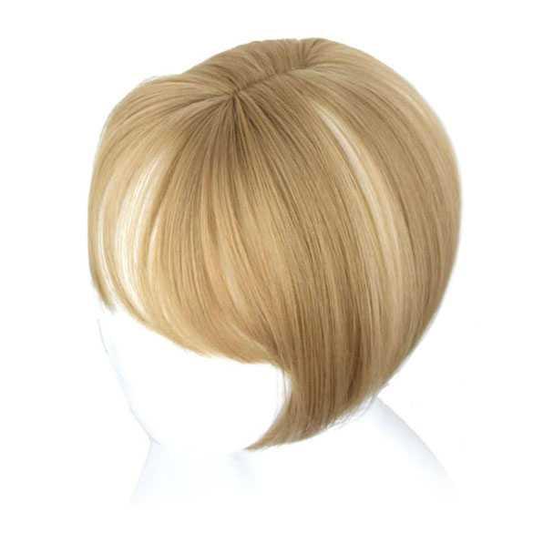 Clip in haartopper steil haar met pony kleur 24H60A