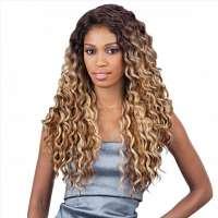 Freetress ombre lace pruik met prachtige krullen model Kylie