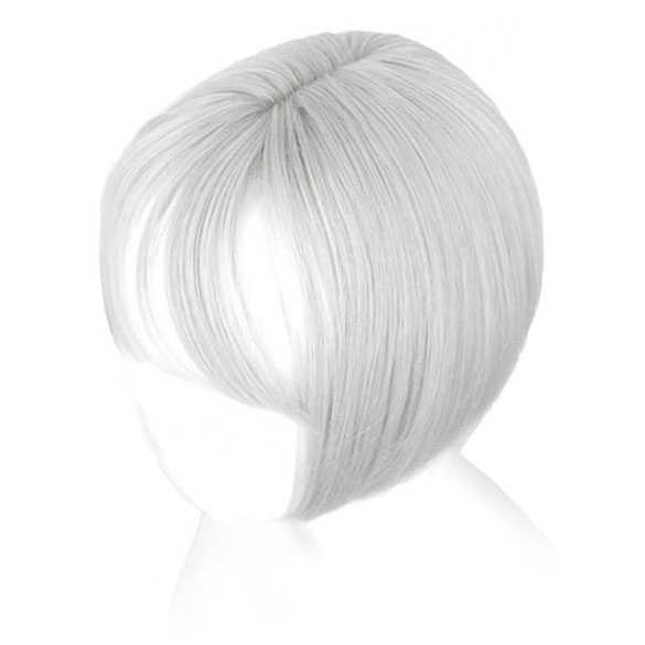 Clip in haartopper steil haar met pony kleur 88A