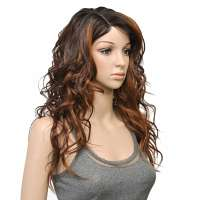 FreeTress lace pruik lang golvend haar model Bently OH227144