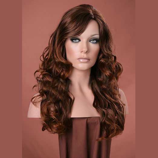 SUPER SALE : Forever Young pruik rood haar model Visage kleur T4-30