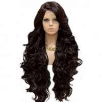 Lace pruik lang haar zonder pony model Primrose kleur 4