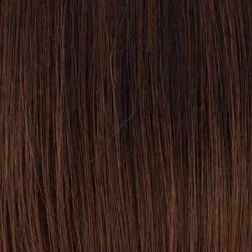 Lace pruik superlang steil haar model Yumi kleur T1B-30