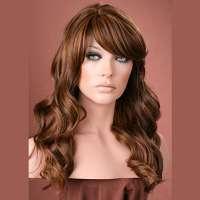 Pruik mix met echt haar model Waverly kleur MF4-27