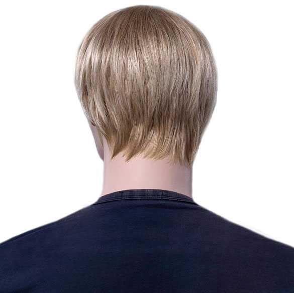 Mannenpruik kort blondmix