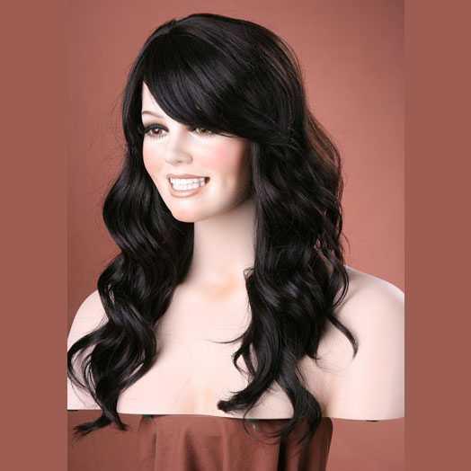 Pruik mix met echt haar model Waverly kleur 2