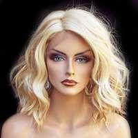 Lace front pruik nonchalant bob model Peagan kleur FS613-27
