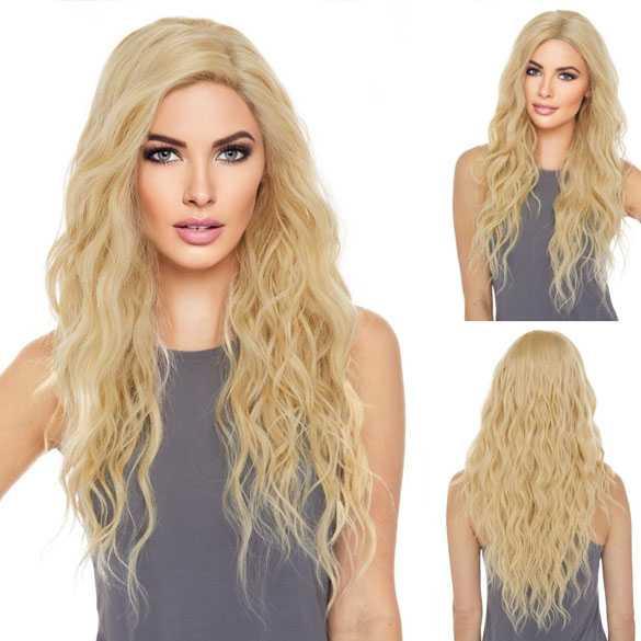 Pruik model Shakira kleur 613 met monofilament top swiss lace front