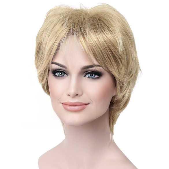 Damespruik kort haar in laagjes kleur 15BT613