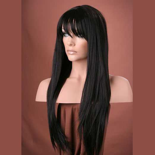 Pruik mix met echt haar model Trisha kleur 2