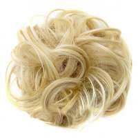 Haar scrunchie met elastiek blondmix kleur 22H613