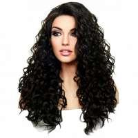 Lace front pruik met krullen model Shania kleur FS1B-30