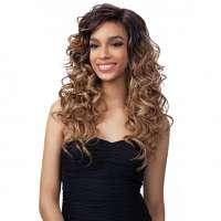 SALE : FreeTress lace front pruik lang krullend haar model Toby