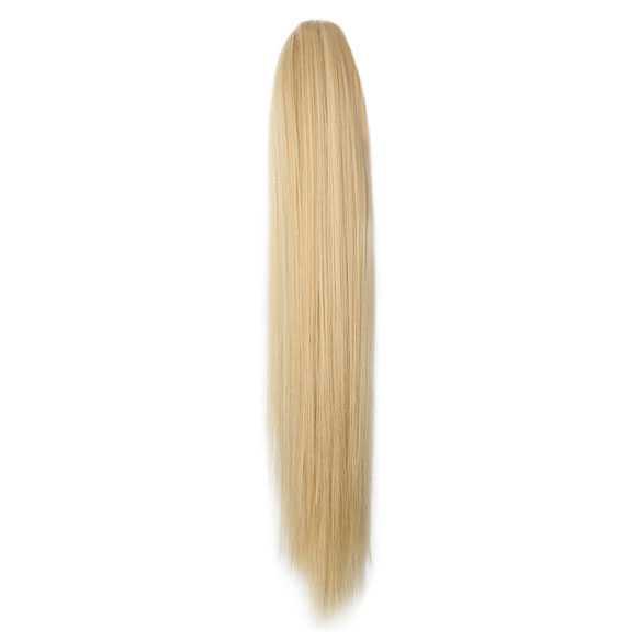Paardenstaart met klem steil haar blondmix 27-613 (B-KEUZE!)