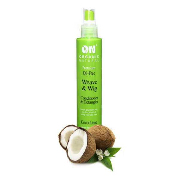 Conditioner & anti-klit spray voor pruiken Kokos - Limoen