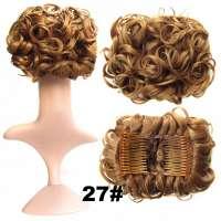 Chignon elastisch haarstukje / vlinderkam kleur 27
