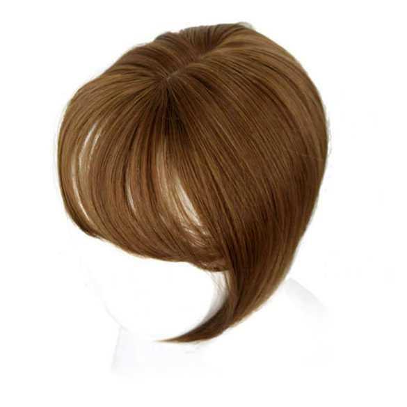 Clip in haartopper steil haar met pony kleur 27