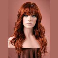 Forever Young pruik model Picture Perfect kleur rood