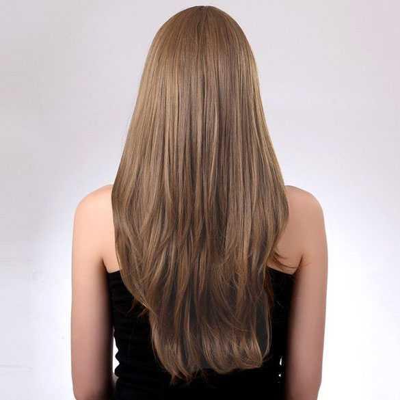 lang haar recht knippen