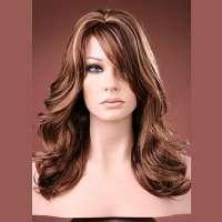 SUPER SALE : Forever Young pruik lang haar model Glow Girl kleur Hot Caramel