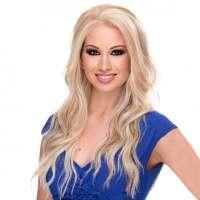 Lace pruik lang golvend haar model Yvonne kleur FS613-27