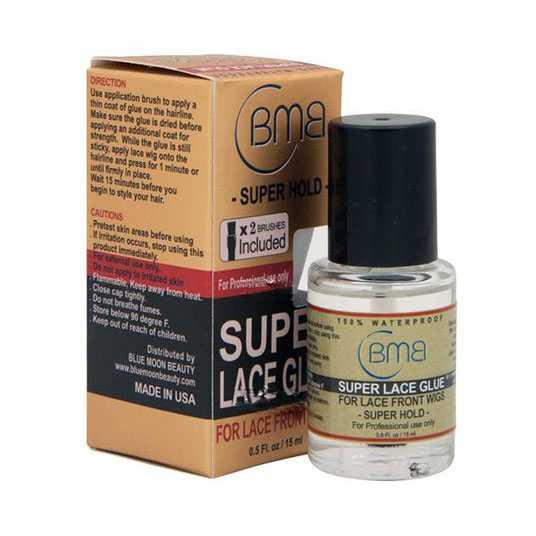 BMB Super lace glue / lijm 15ml met kwastje 100% waterproof