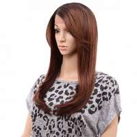 Lace pruik lang steil haar model Apple Blossom OF23033