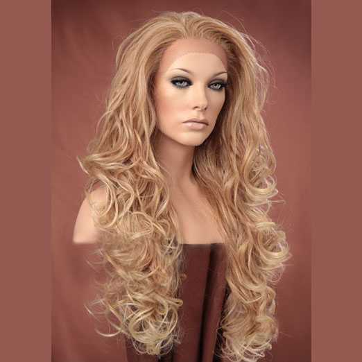 model krullend haar