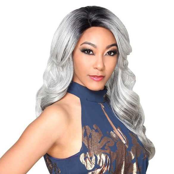 SALE : Zury Sis lace pruik lang haar met krullen model Ari