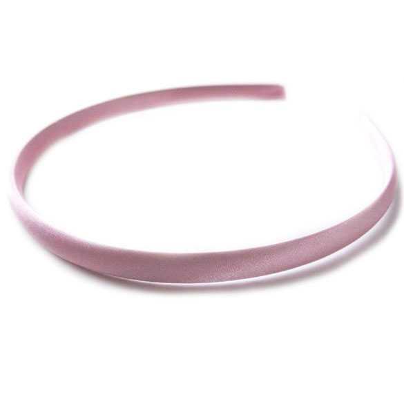 Diadeem / haarband satijn roze