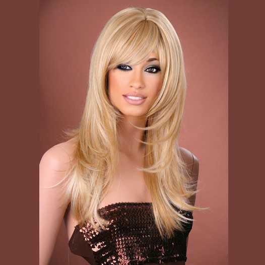 Pruik mix met echt haar model Melinda kleur MF24-613A
